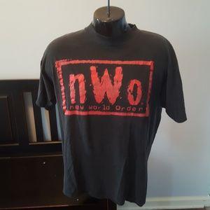 Vtg 90s WCW shirt